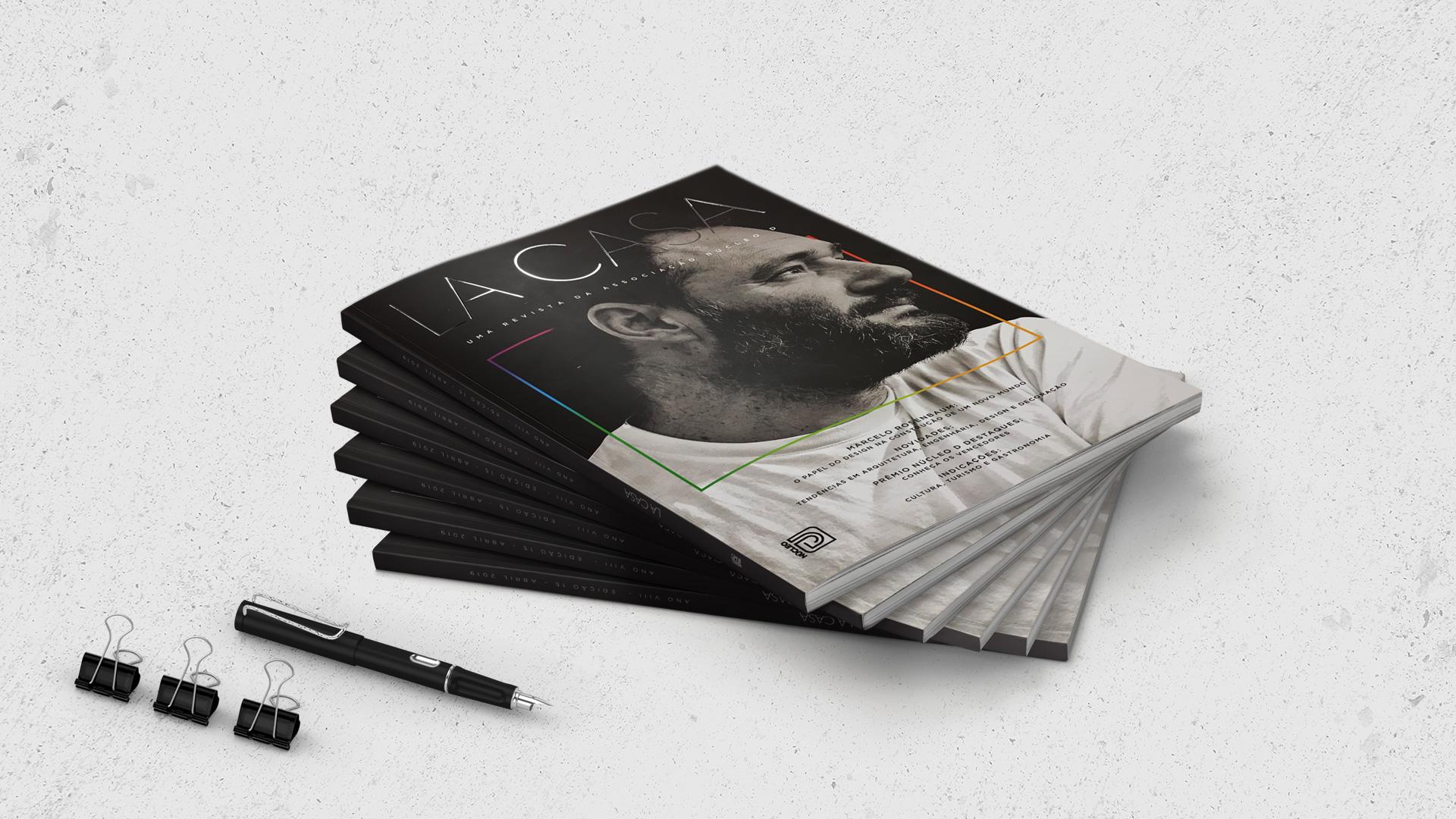 Revista La Casa Núcleo D Doss Propaganda